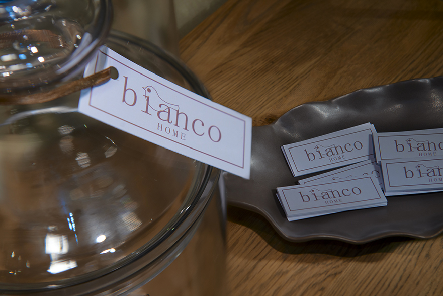 Bianco Home Lodi - negozio di arredamento a Lodi - etichetta