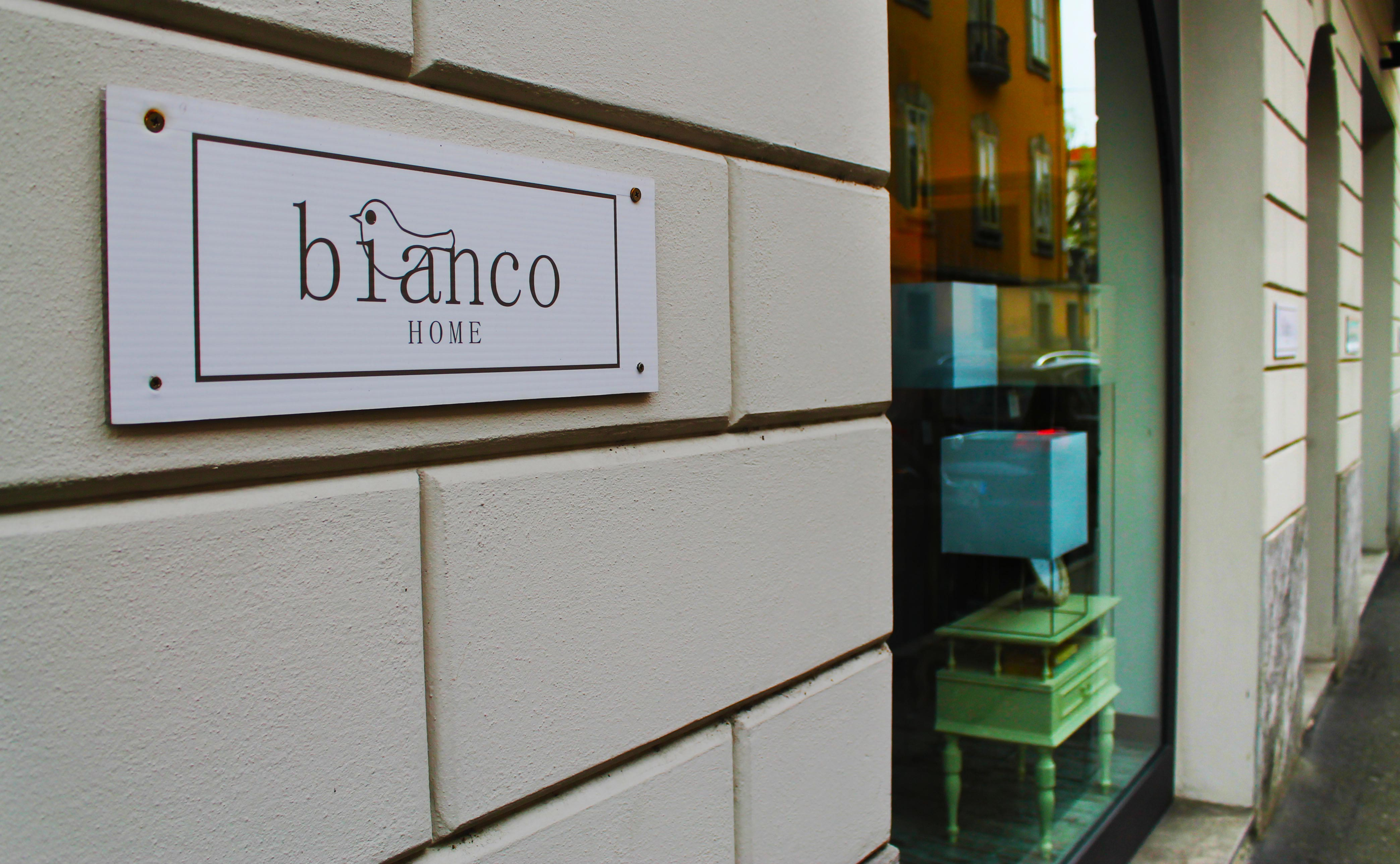 Bianco Home Lodi - negozio di arredamento a Lodi - vetrina